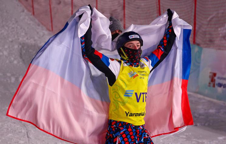 Домашний успех. Максим Буров в четвертый раз подряд победил на этапе КМ по фристайлу