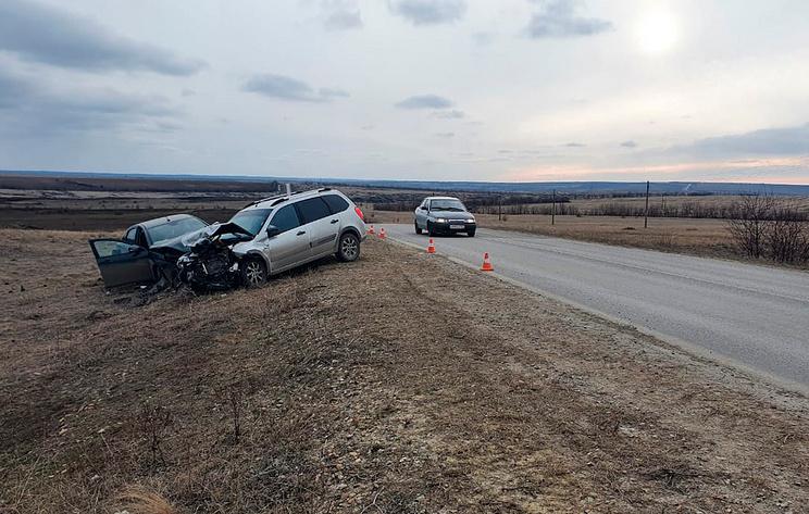 В Ростовской области в ДТП пострадали четыре человека