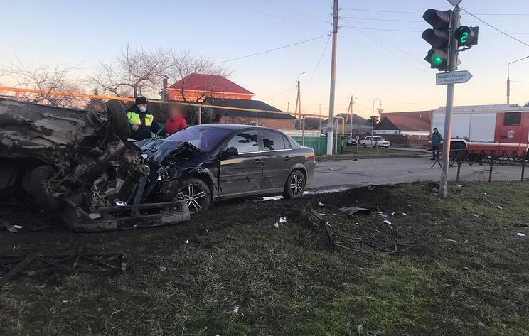 Пьяный полицейский подозревается в ДТП с двумя погибшими на Кубани