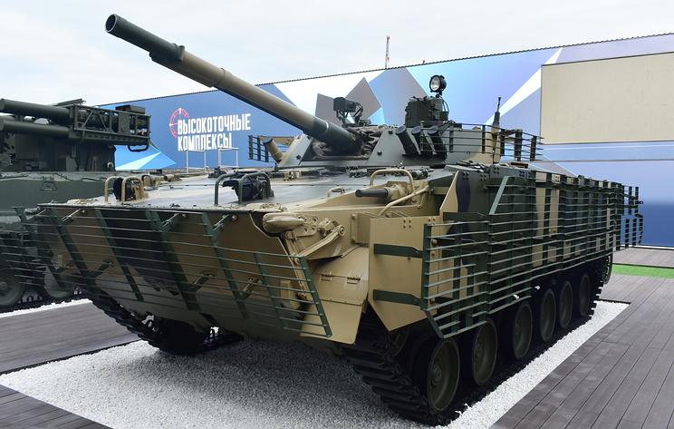 Ростех оснастит БМП-3 новым двигателем