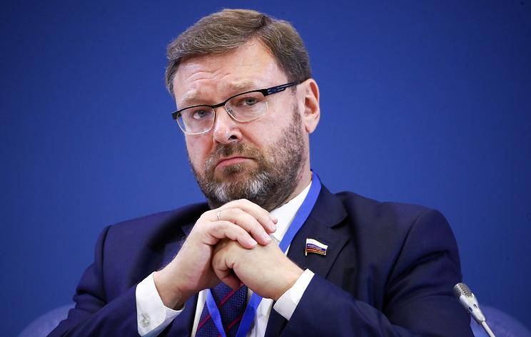 Косачев считает, что РФ обязательно должна ответить на санкции Украины, но не зеркально
