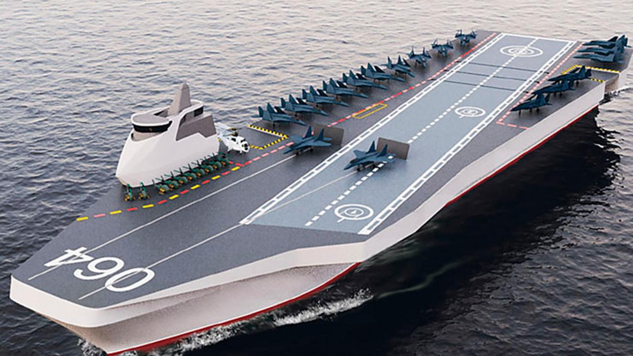Несуществующий российский авианосец «выдержал» удар реального американского