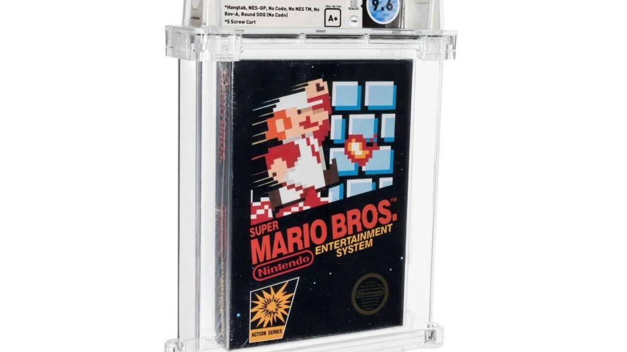 Редкий картридж Super Mario стал самой дорогой игрой в истории