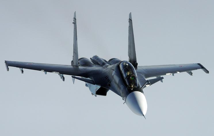 В Казахстане разбился истребитель Су-30СМ