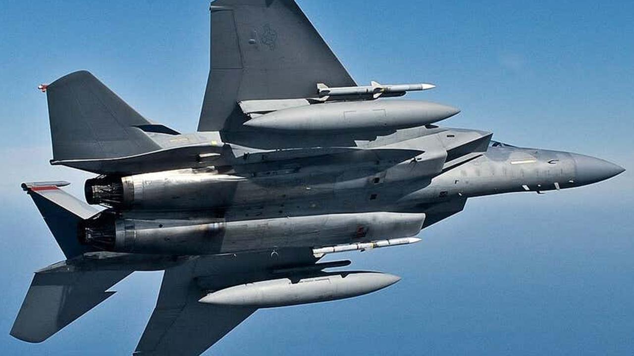 F-15 ВВС США уничтожил цель на рекордном расстоянии