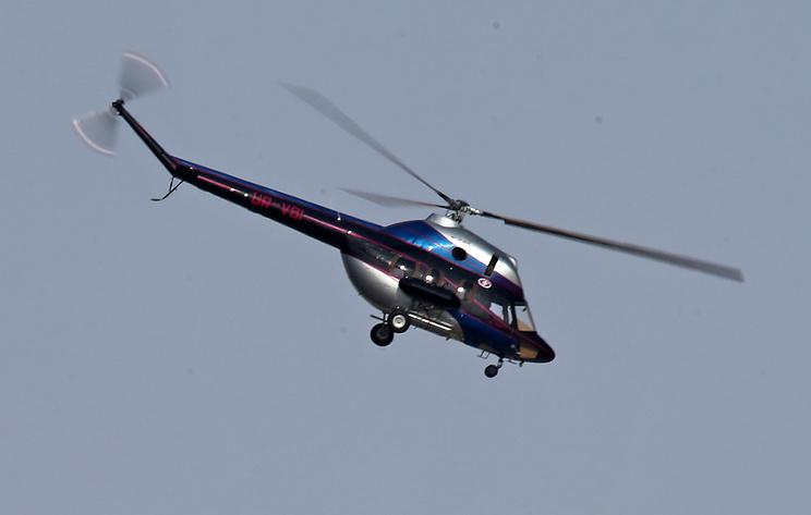 Вертолет совершил жесткую посадку на Кубани. Пилот погиб