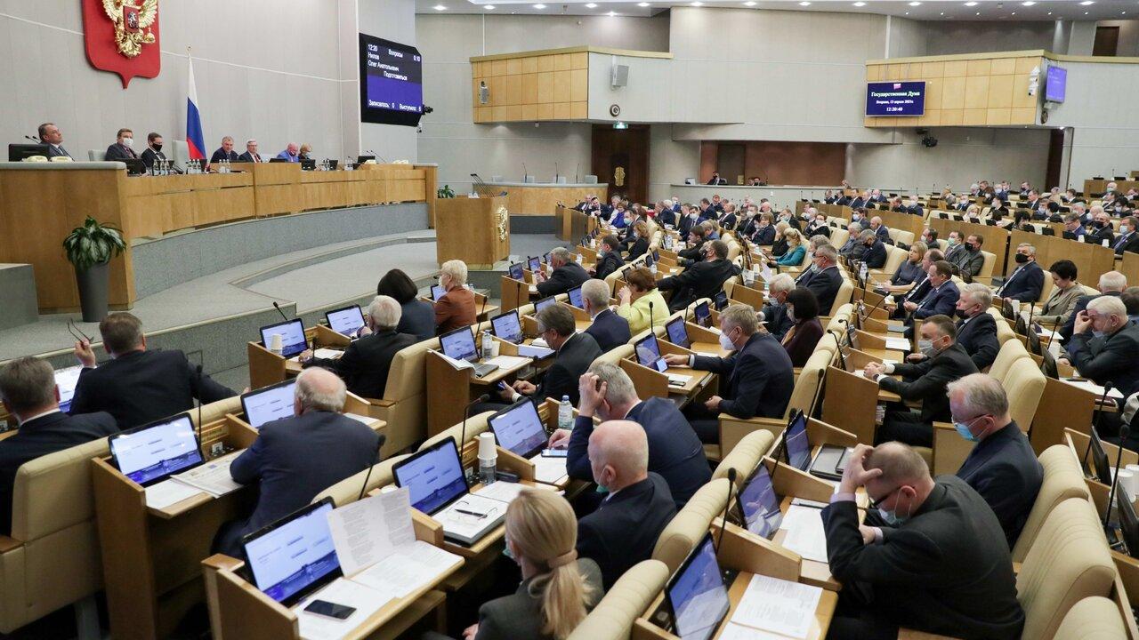 В Госдуме назвали гадостью и пакостью слова Зеленского о Крыме и Донбассе