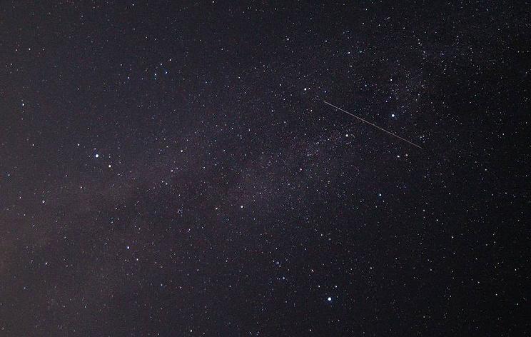 Растущая Луна помешает наблюдению звездопада Лириды в ночь на 21 апреля