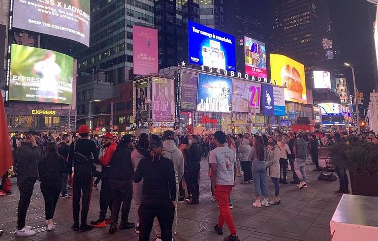 В Нью-Йорке участники митингов в поддержку вердикта по делу Флойда расходятся