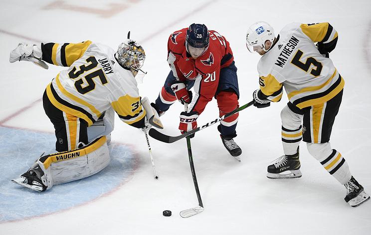 """""""Питтсбург"""" и """"Вашингтон"""" вышли в плей-офф НХЛ"""