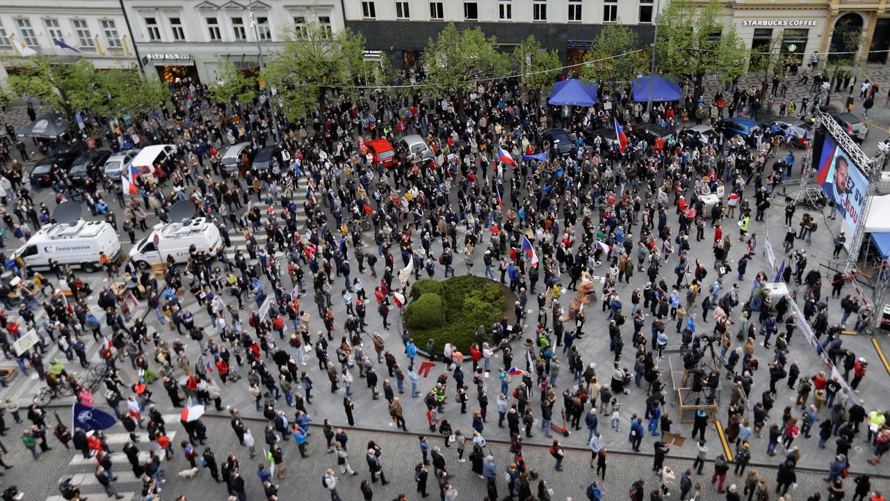 В Чехии прошли митинги против «пророссийского» президента страны