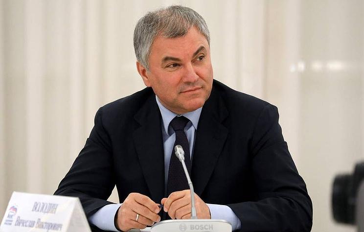 Володин призвал правительство и ЦБ услышать диалог депутатов и их избирателей на улицах