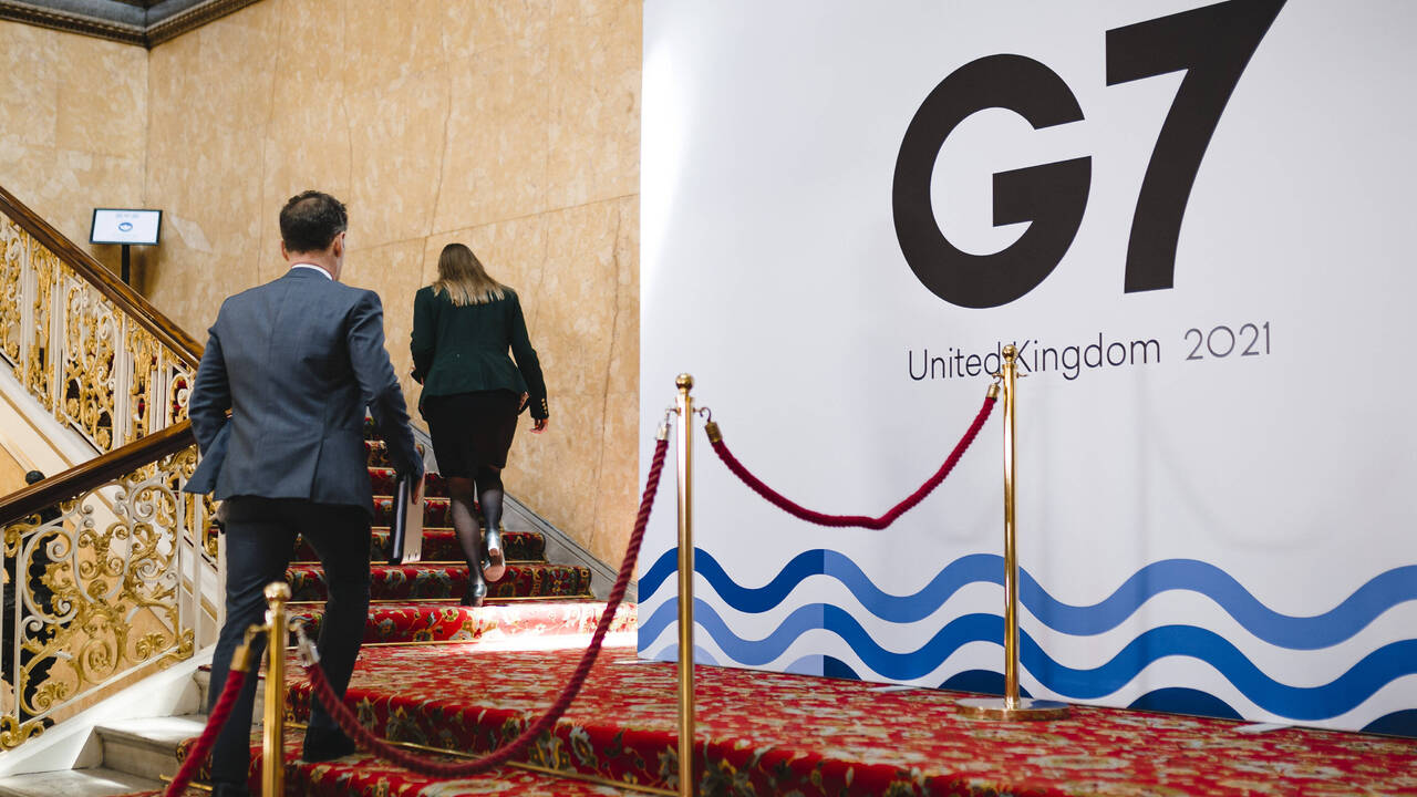 Страны G7 призвали Россию принять меры по деэскалации на границе с Украиной