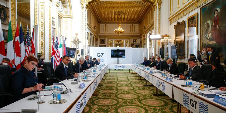 О чем говорится в итоговом коммюнике по итогам встречи глав МИД G7
