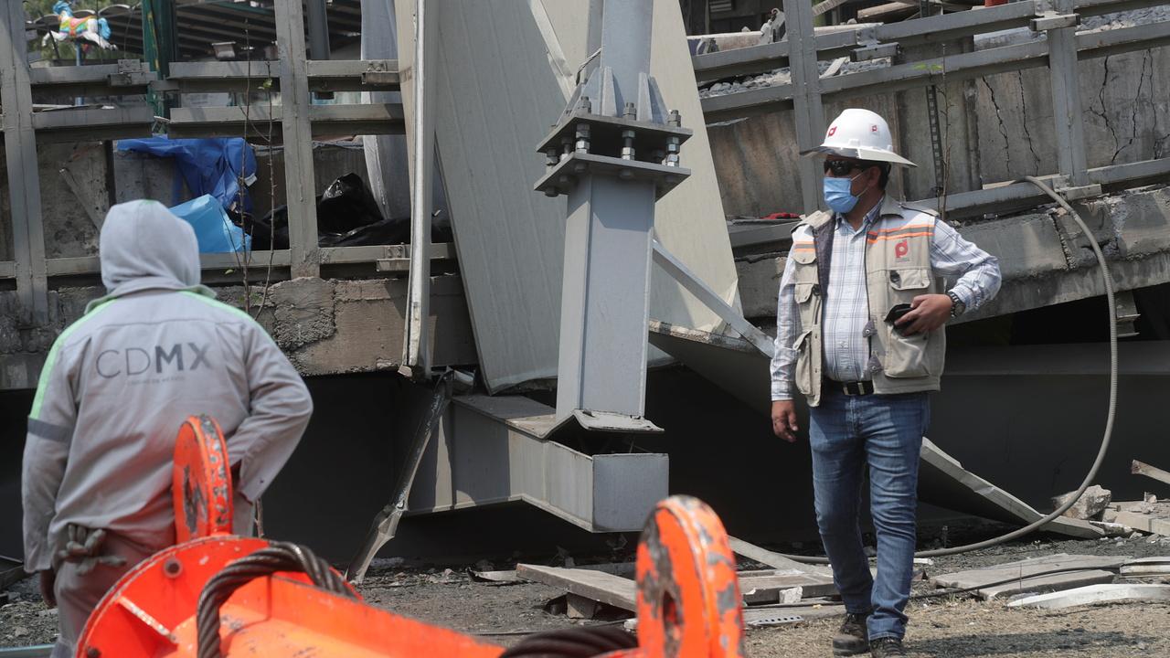 Раскрыта причина обрушения метромоста в Мехико
