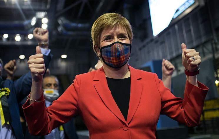 Сторонники независимости Шотландии получили большинство мест в региональном парламенте