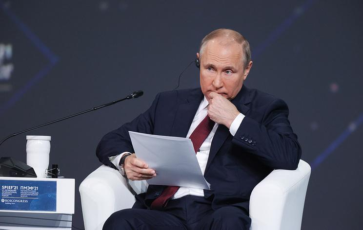 Путин назвал дискредитацию российской вакцины на Западе борьбой за деньги