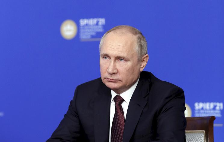 Путин на ПМЭФ проводит встречу с главами мировых информационных агентств