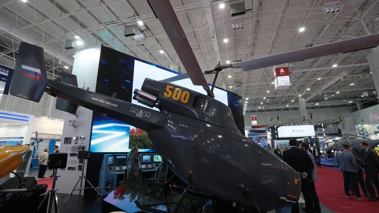 В России создадут полностью электрический беспилотник вертолетного типа