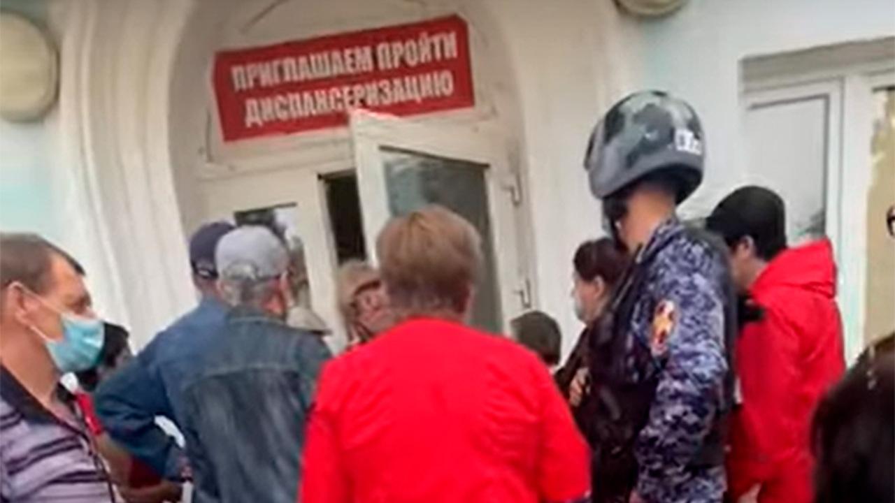 В российской больнице к взбунтовавшимся пациентам вызвали Росгвардию