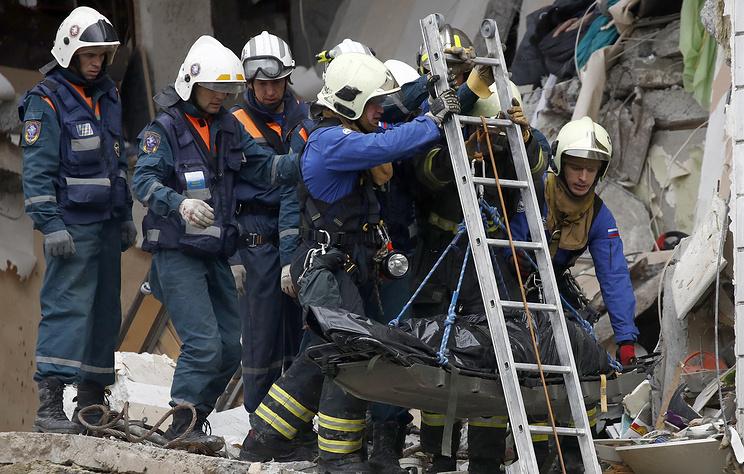 Под завалами на месте взрыва газа в Ногинске может находиться ребенок