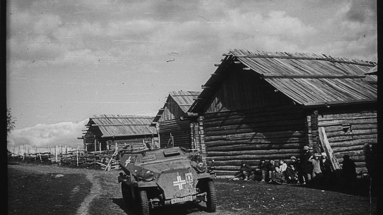 Опубликованы снимки вторжения войск нацистской Германии в СССР