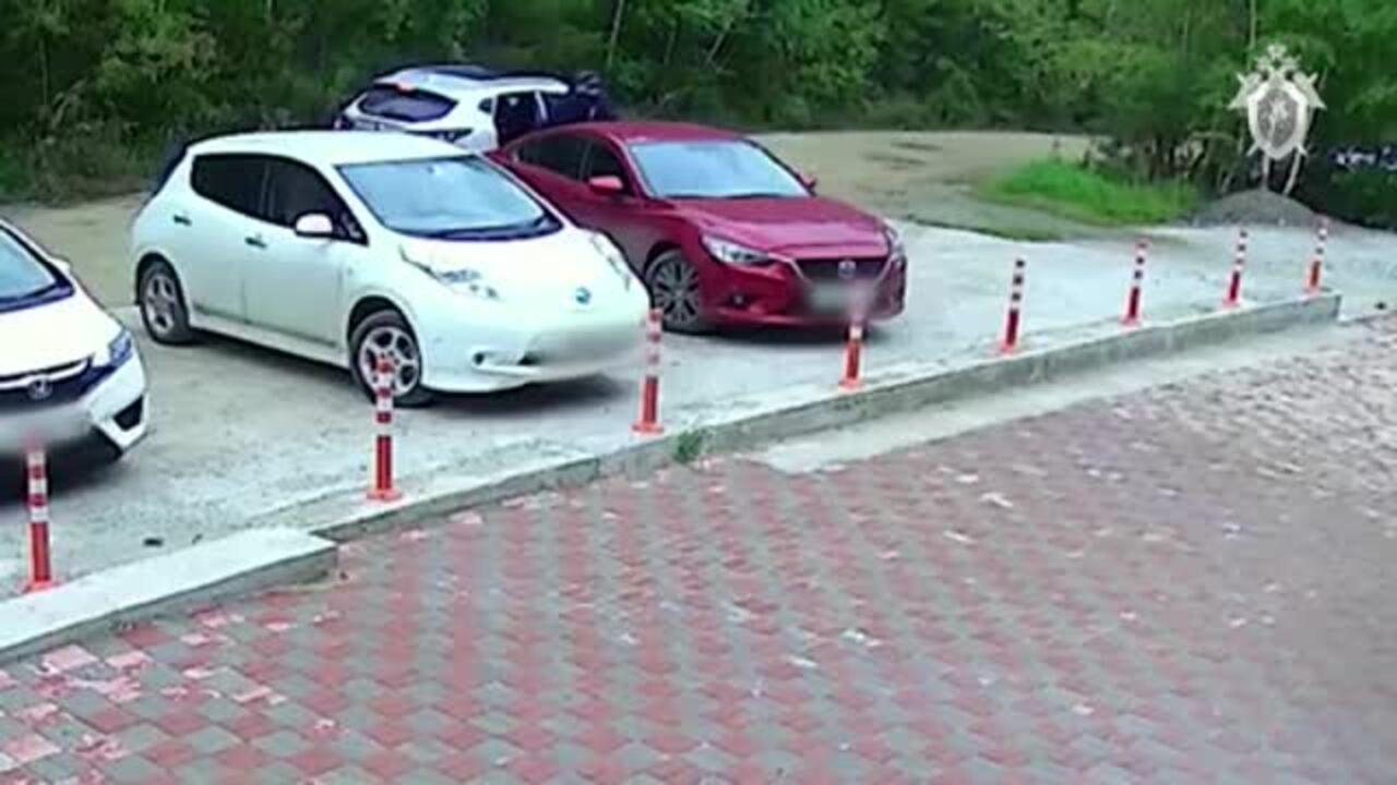 Россиянин поджег машину с сидевшей в ней шестилетней девочкой и попал на видео