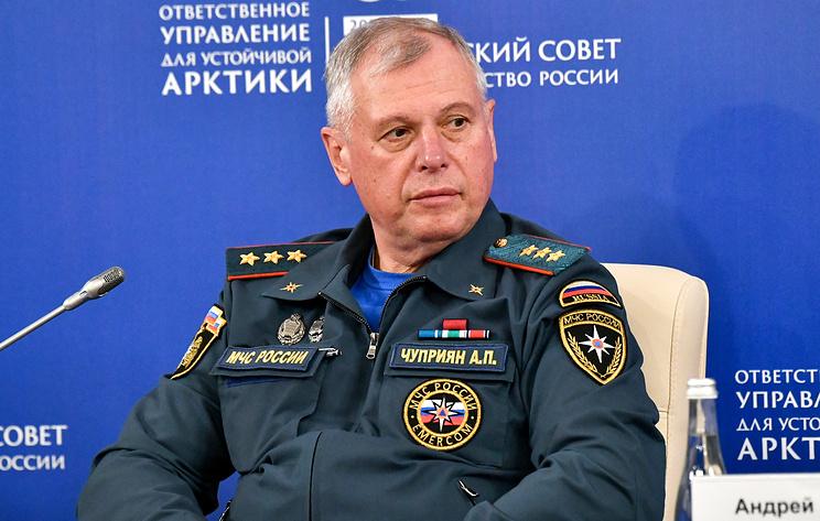 Путин назначил Чуприяна врио главы МЧС