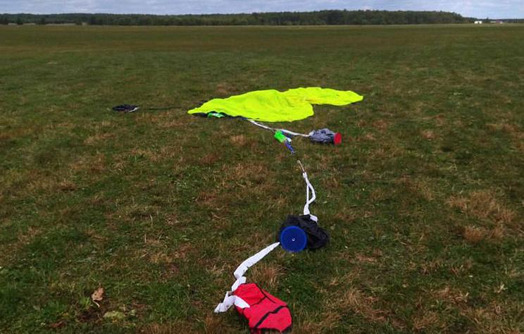 Парашютист погиб в Подмосковье, столкнувшись в воздухе с куполом другого парашюта
