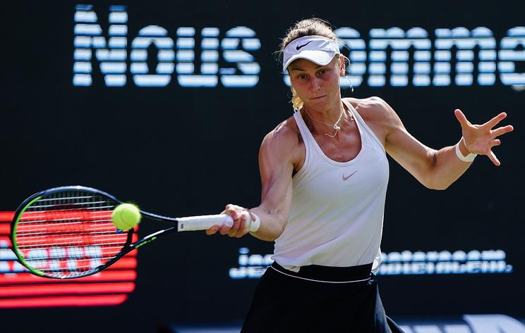 Самсонова вышла во второй круг теннисного турнира категории WTA 1 000 в Индиан-Уэллсе