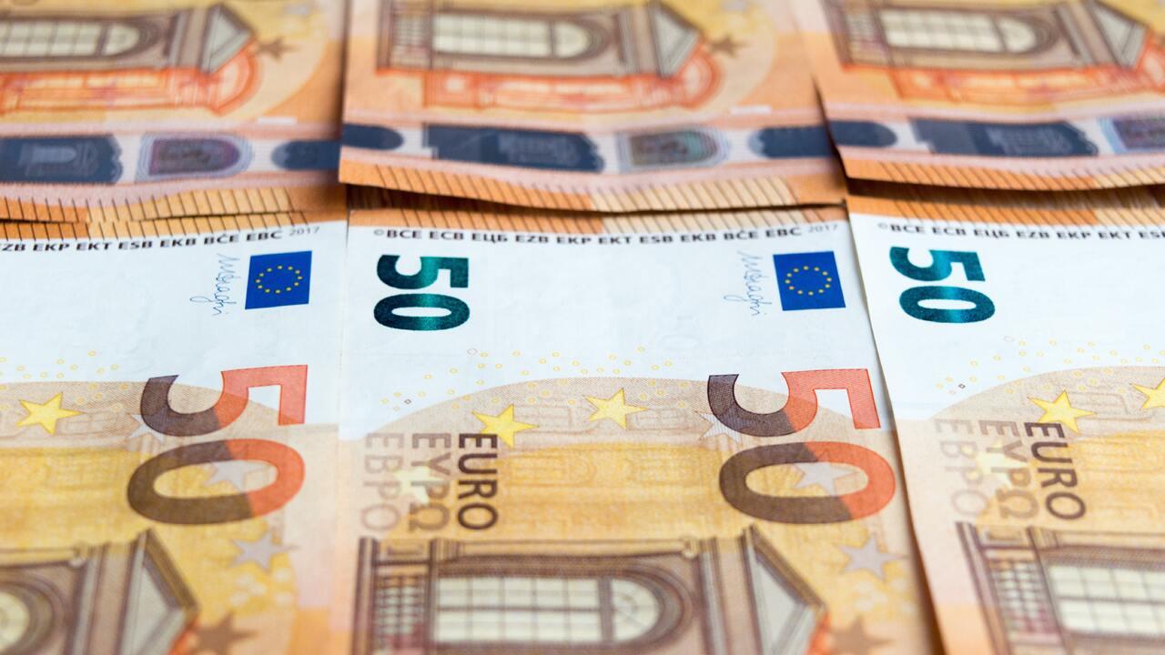 Курс евро упал