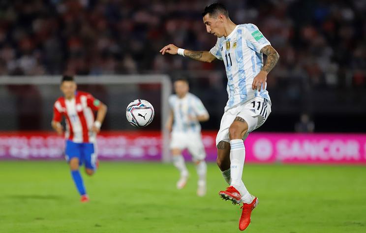 Аргентинские футболисты не сумели обыграть парагвайцев в матче отбора на чемпионат мира