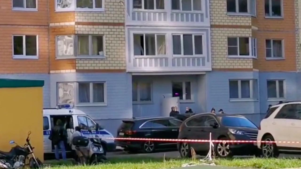 Появились кадры c места гибели россиянки с двумя детьми в Москве